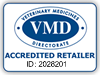 VMD Accredited Retailer logo