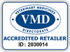 This logo shows you, the customer, that this website has been accredited by the Veterinary Medicines Directorate to sell authorised veterinary medicinal products. Please note that non-medicinal products have not been assessed.